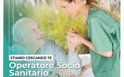 SELEZIONE PER 10 POSTI DI OPERATORE SOCIO SANITARIO. SCADENZA DOMANDE 25 FEBBRAIO 2021.